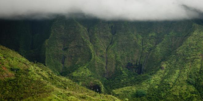 Mount Waialeale Crater, Kauai