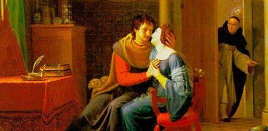 Abelardo y Eloísa. Amor y tragedia entre maestro y alumna