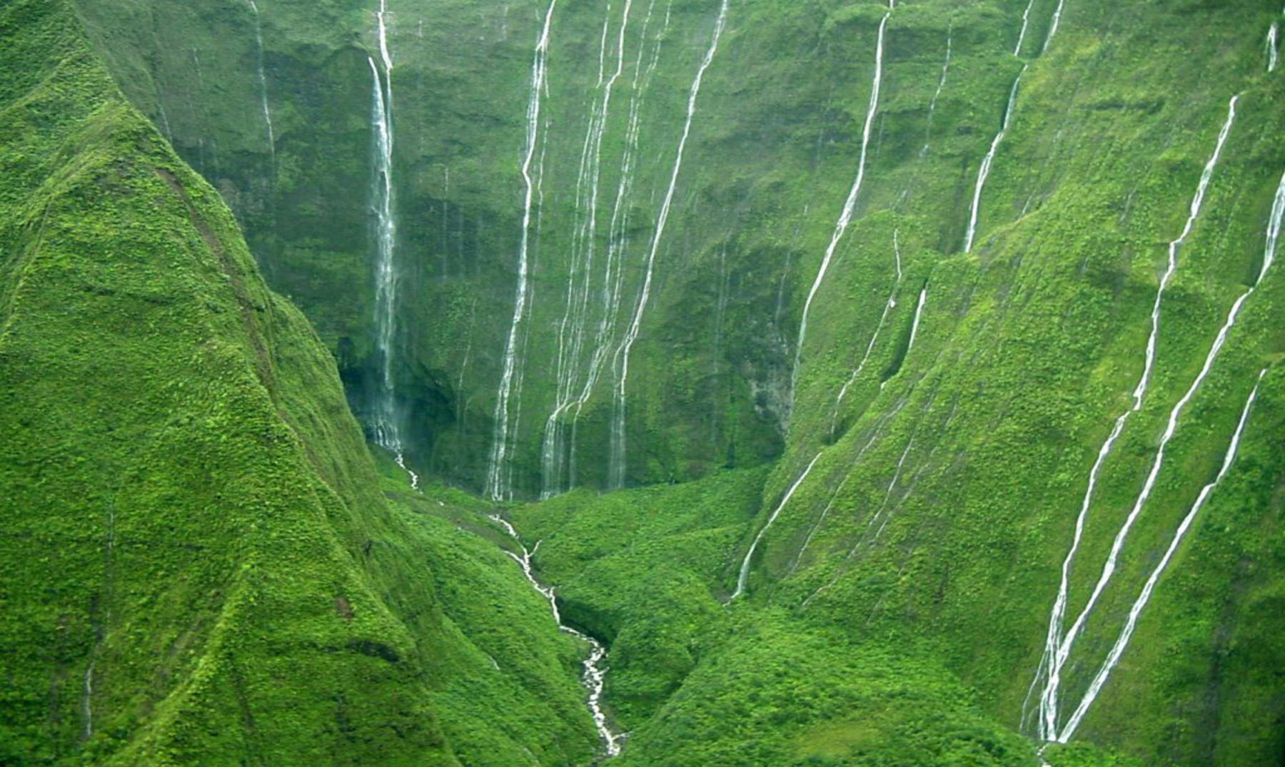 """El monte Waialeale, el """"embudo"""" del mundo"""