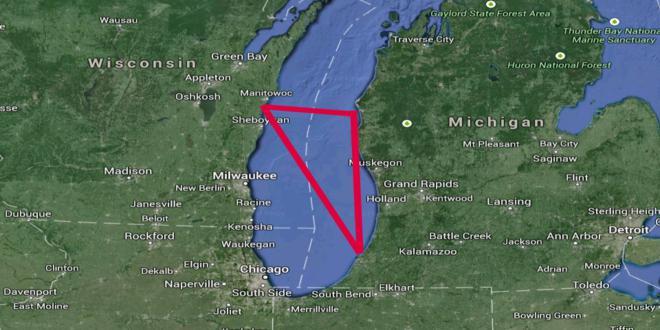 Lago Michigan, Triángulo, Misterio