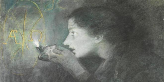 Lucien LEVY DHURMER (Alger 1865 - Vésinet 1953) Révélation de l'Alpha et_660x330