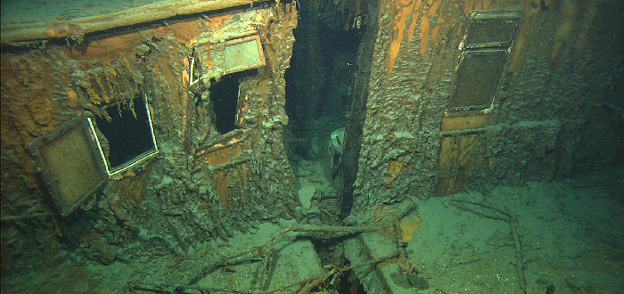 Descubrimiento del Titanic