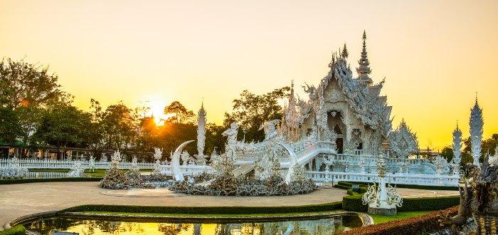Wat Rong Khun, los orígenes del templo