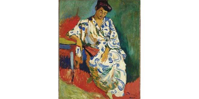 Retrato de Amélie, la esposa de Matisse (Henri Matisse, 1905)