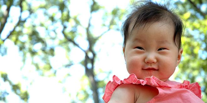 bebé mongola