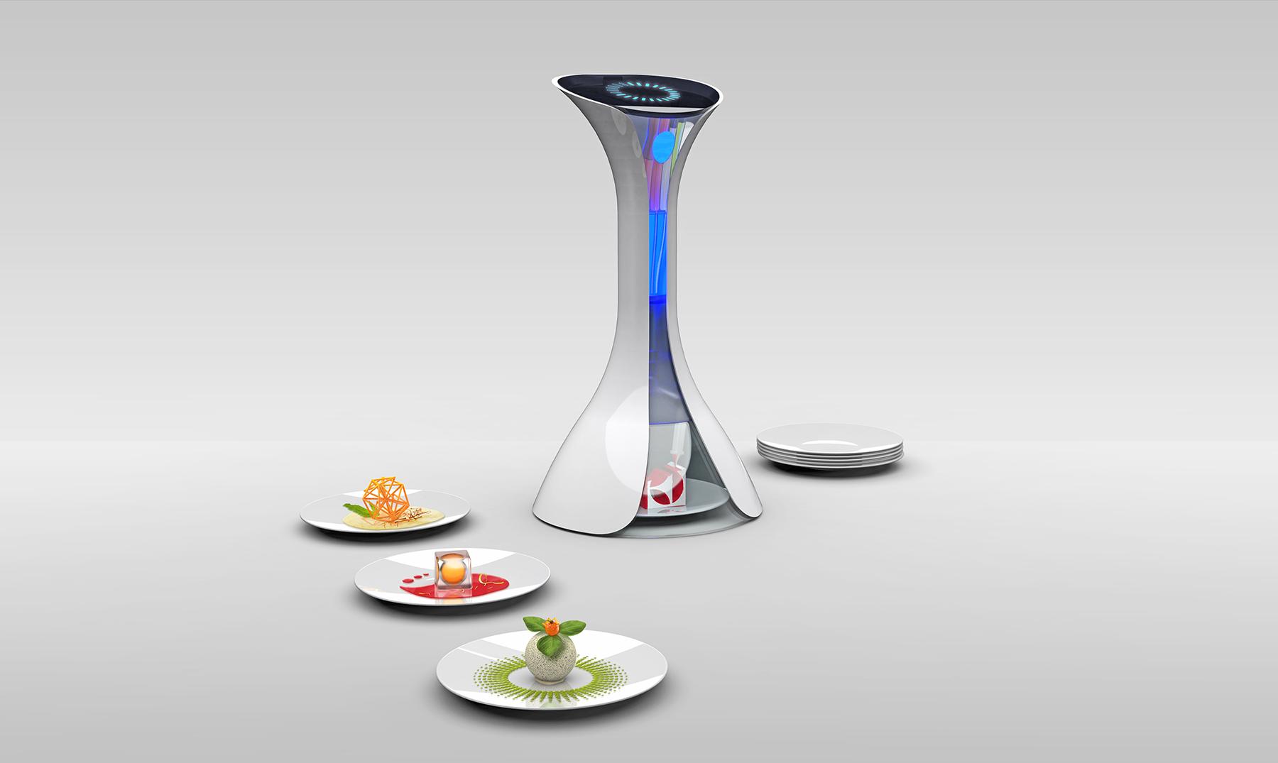 comida 3D portada