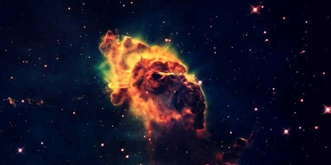 espacio explosión