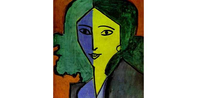 Retrato de Lydia Delektroskaya (Henry Matisse, 1947)
