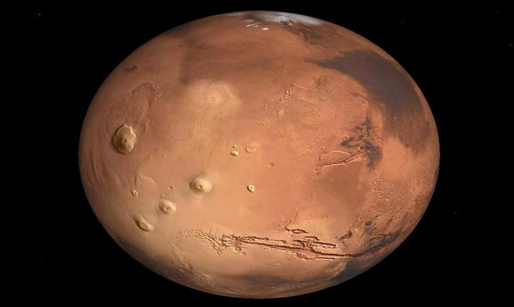 Si viajas a Marte puedes envejecer más rápido
