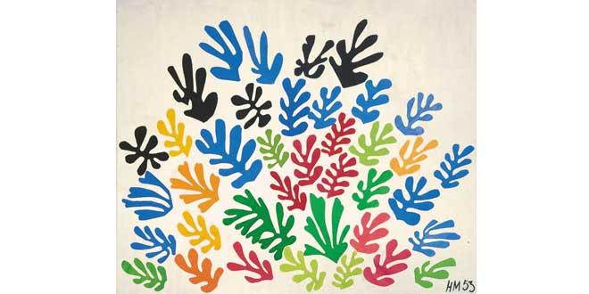 """La gavilla"" (Henri Matisse, 1953)"