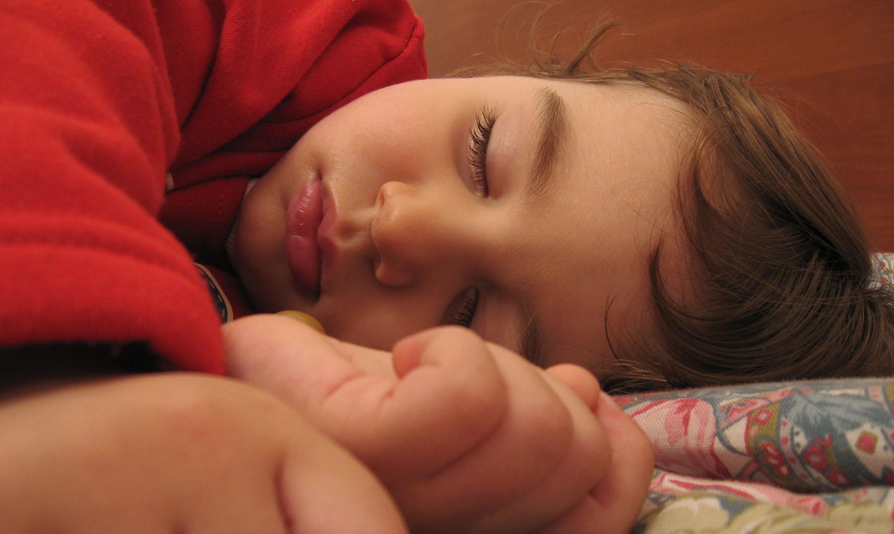 niños y siesta