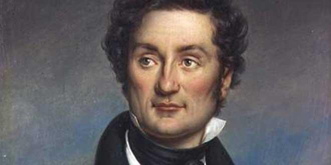 Retrato de Charles Nodier (1844) por Jean-Baptiste Paulin Guérin