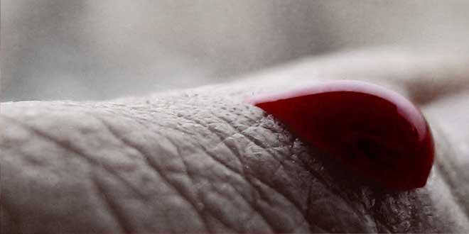 sangre, llorar sangre