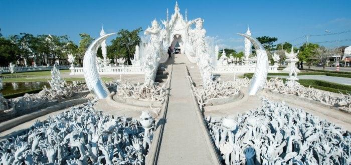 Wat, Rong Khun, los elementos del templo