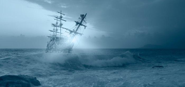 La leyenda del Holandés Errante y el barco fantasma