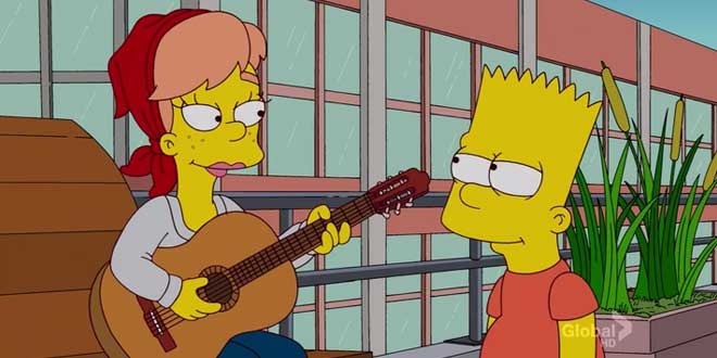 simpsons moonriver