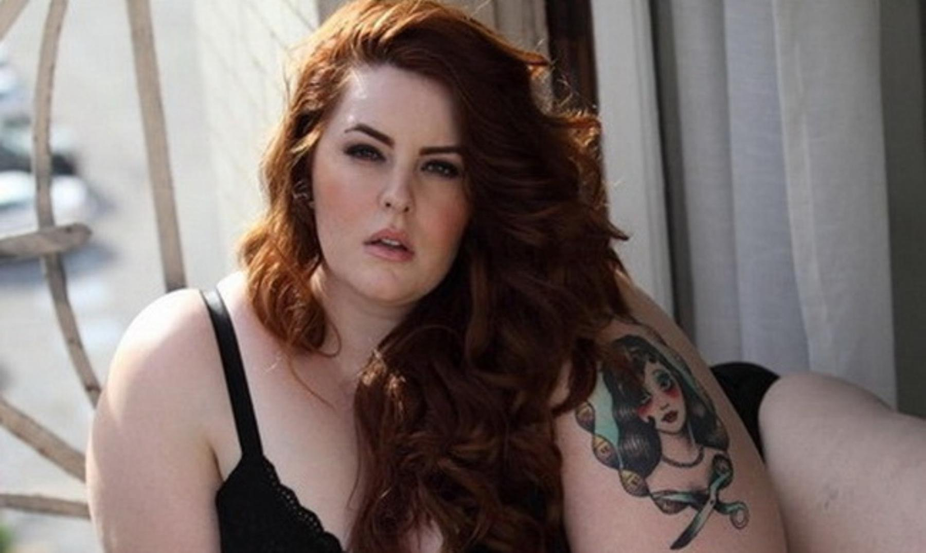 Tess Munster, nuevos cánones de belleza en una modelo XXL
