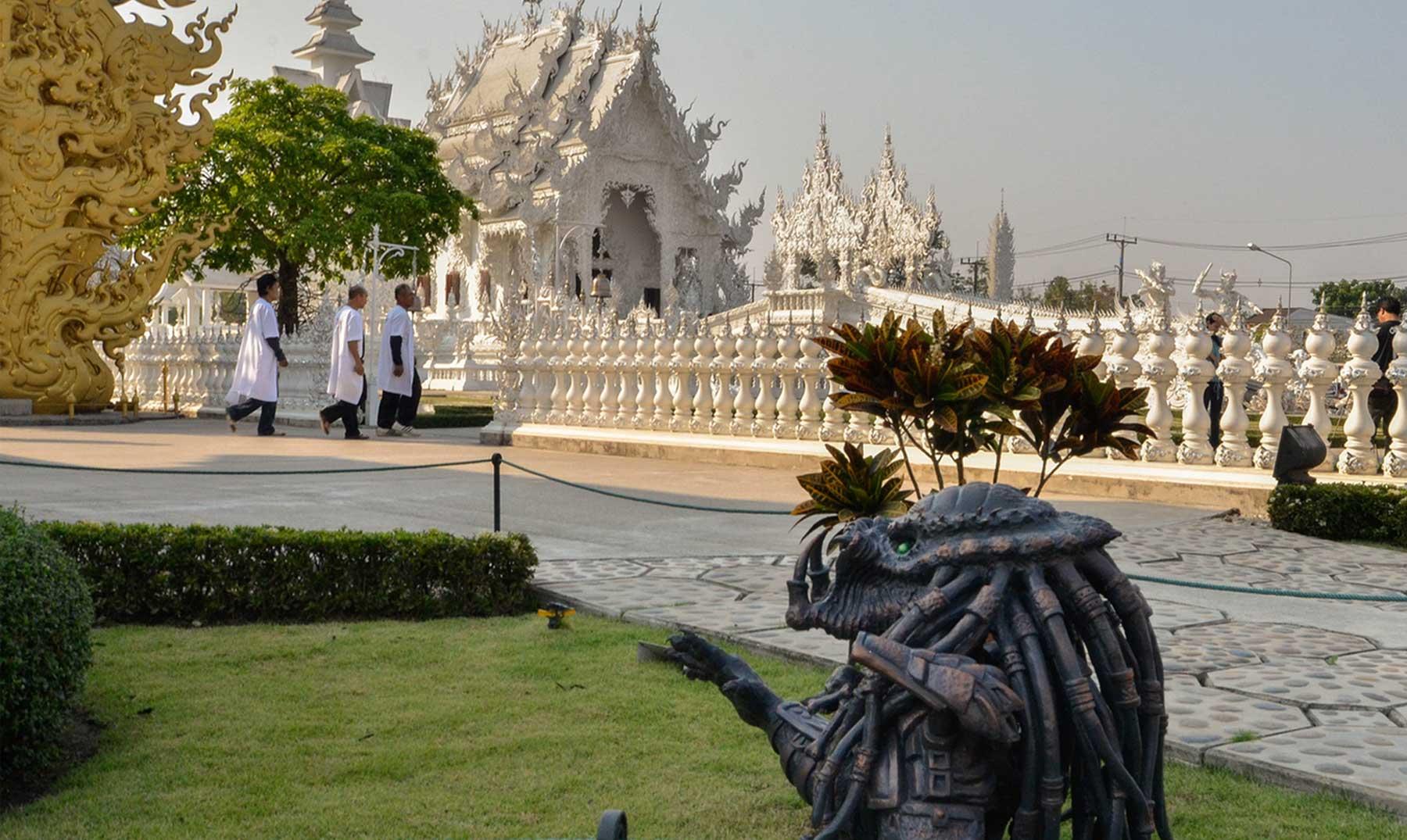 Wat Rong Khun: el templo budista de la ciencia ficción