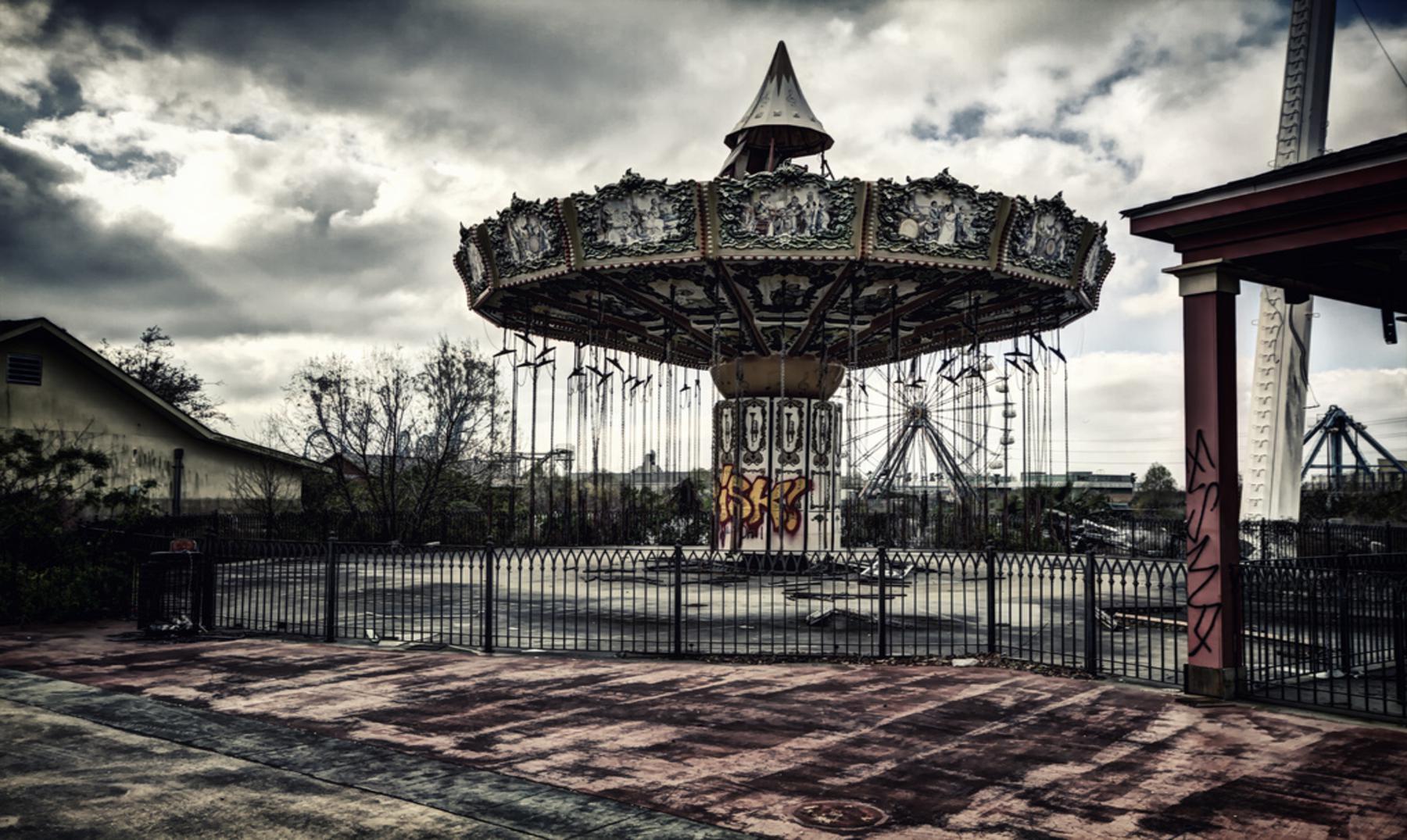 Six Flags Jazzland: El tétrico parque de diversiones abandonado