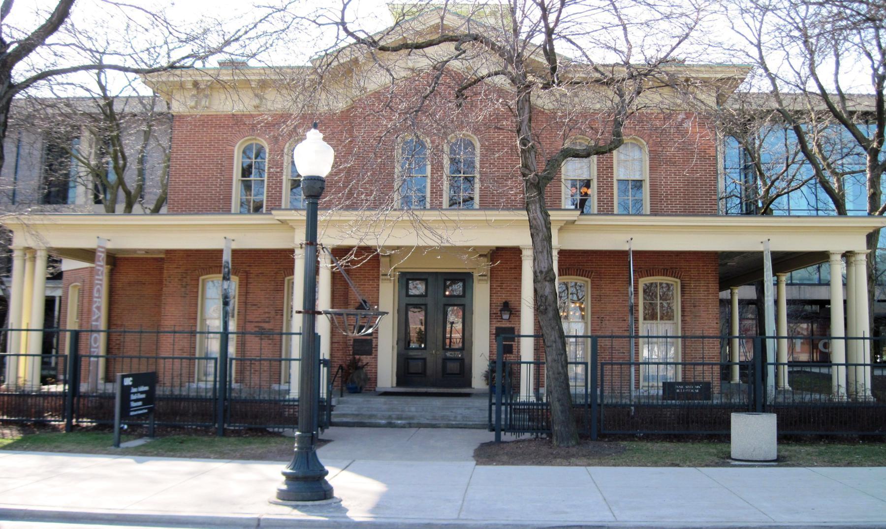 Casas embrujadas III: Hull house, Chicago
