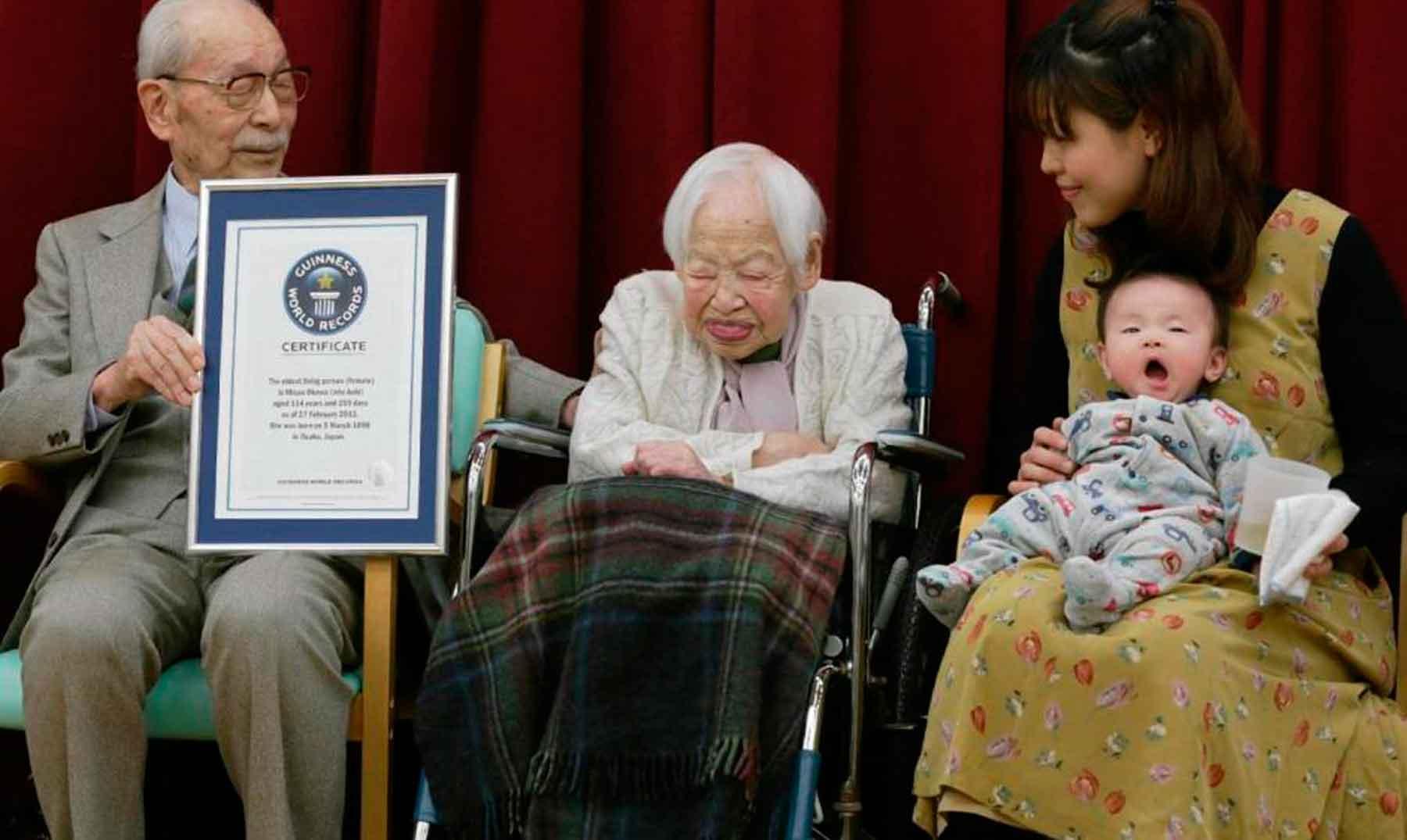 La mujer más vieja del mundo: 117 años