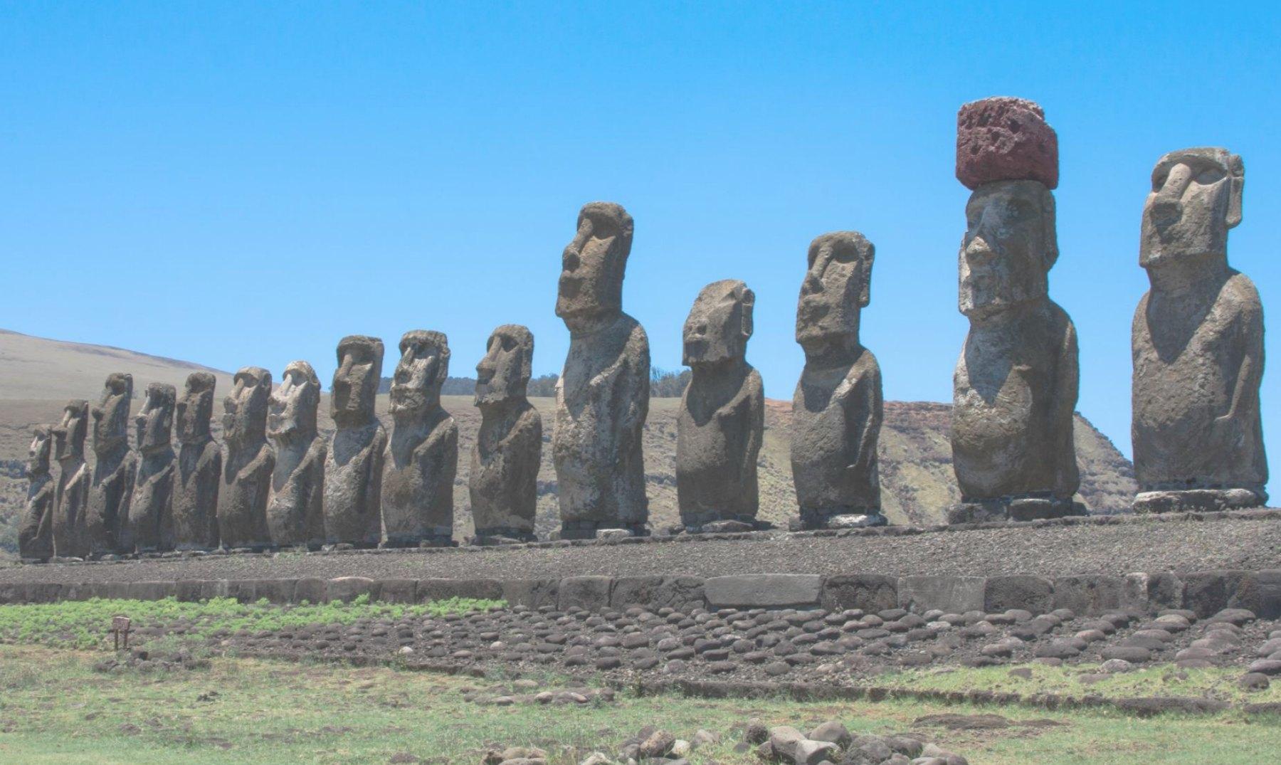 El misterio de los Moai en la Isla de Pascua