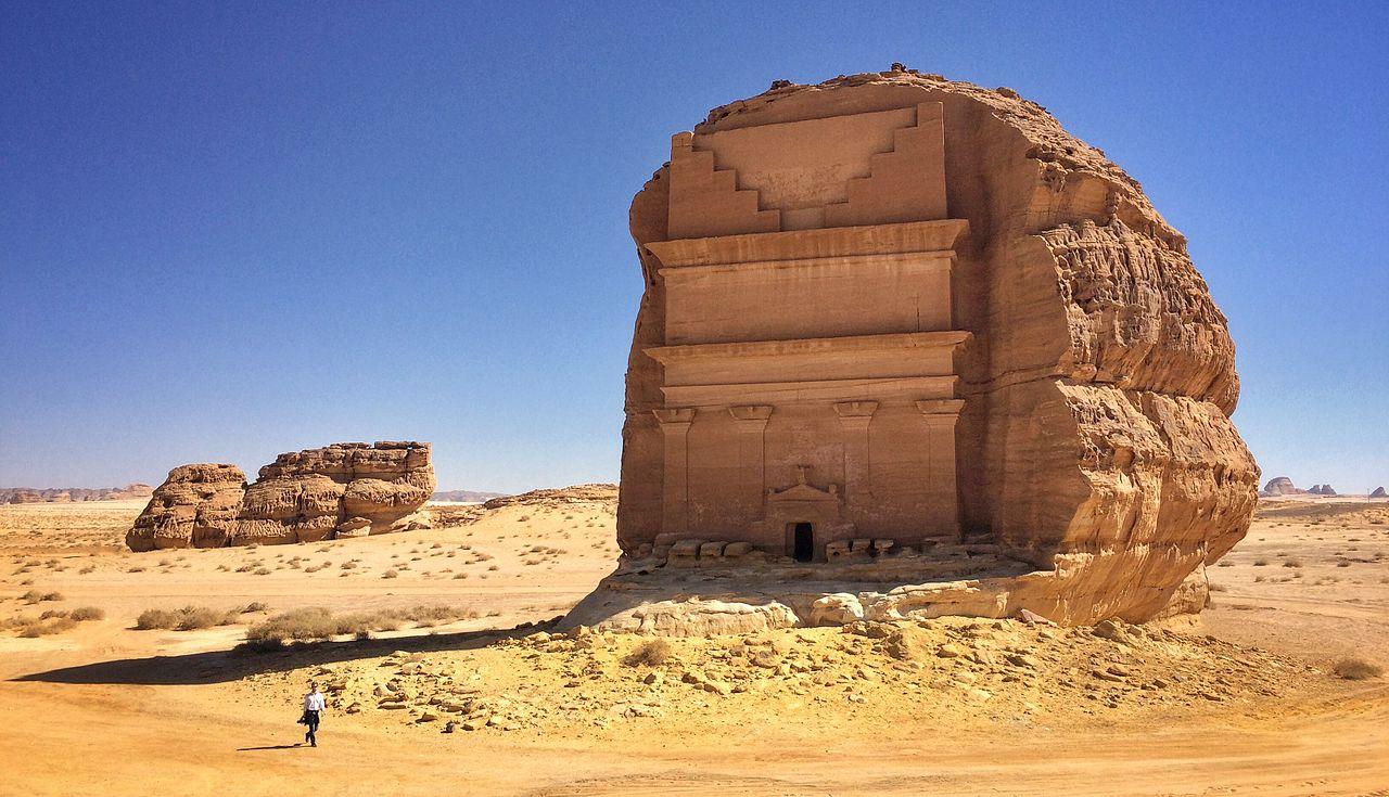 El castillo solitario de Qasr Al Farid