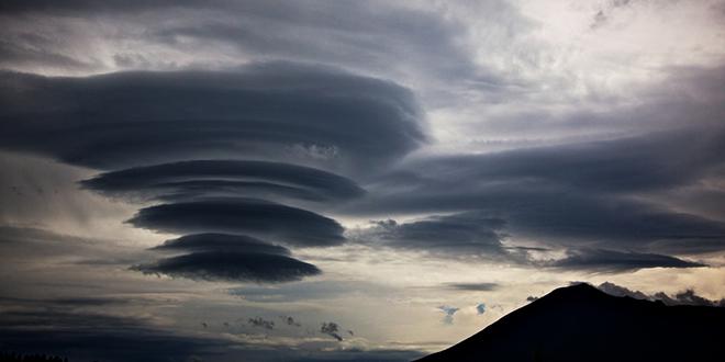 conjunto de nubes