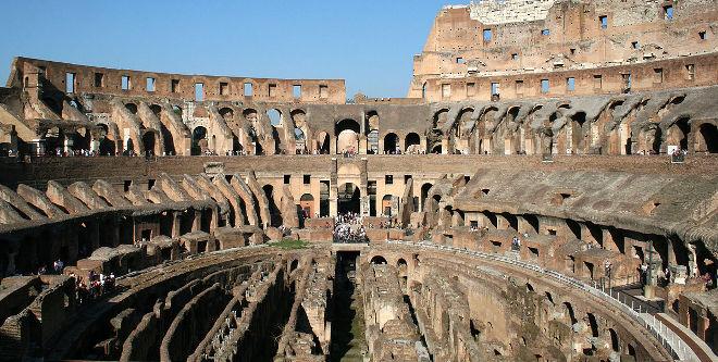 Coliseo Romano: Hipogeo
