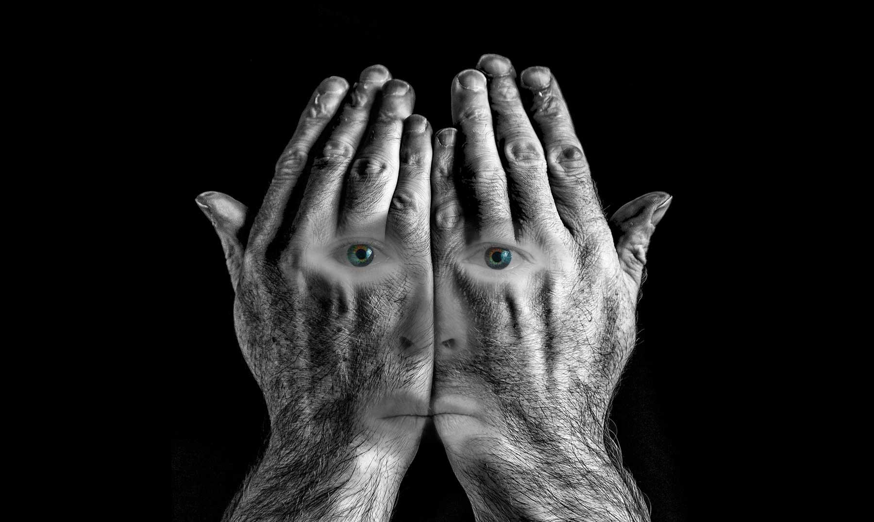 """Conoce al hombre que puede """"ver"""" sin ojos"""
