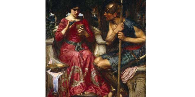 Jasón y Medea, de J.W. Waterhouse
