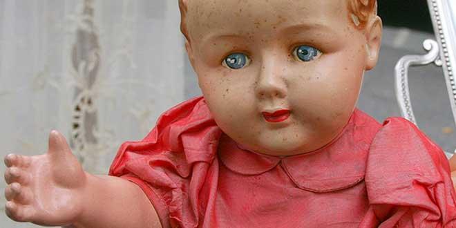 muñeca inquietante