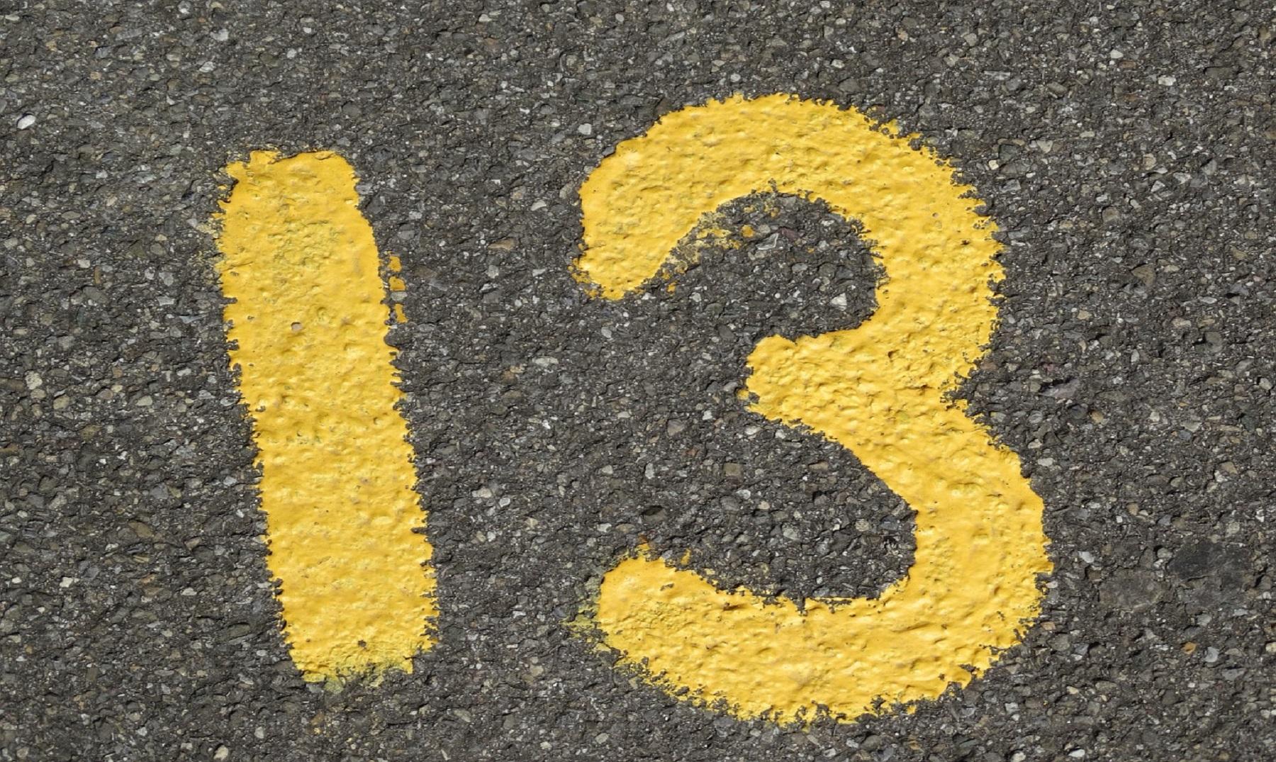 fobia al número 13