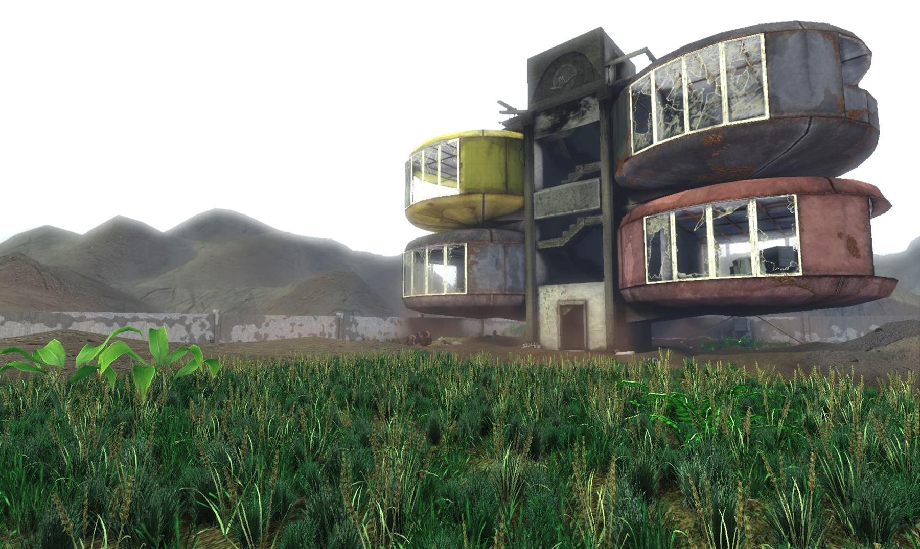 El aterrador pueblo fantasma de San Zhi, Taiwan