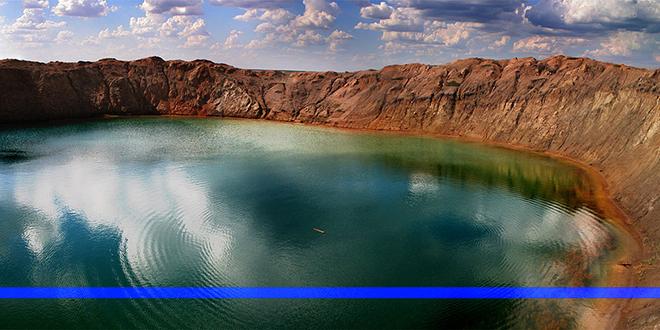 Vista del lago, hoy en día