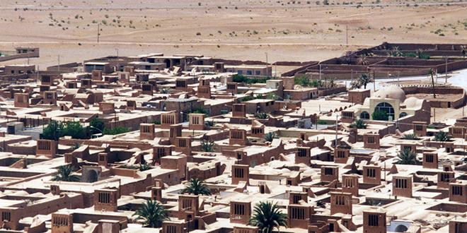 Vista del desierto Dasht-e-Kavir, Irán