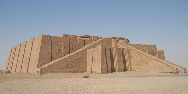 Zigurat de la ciudad de Ur, otra de las más antiguas ciudades