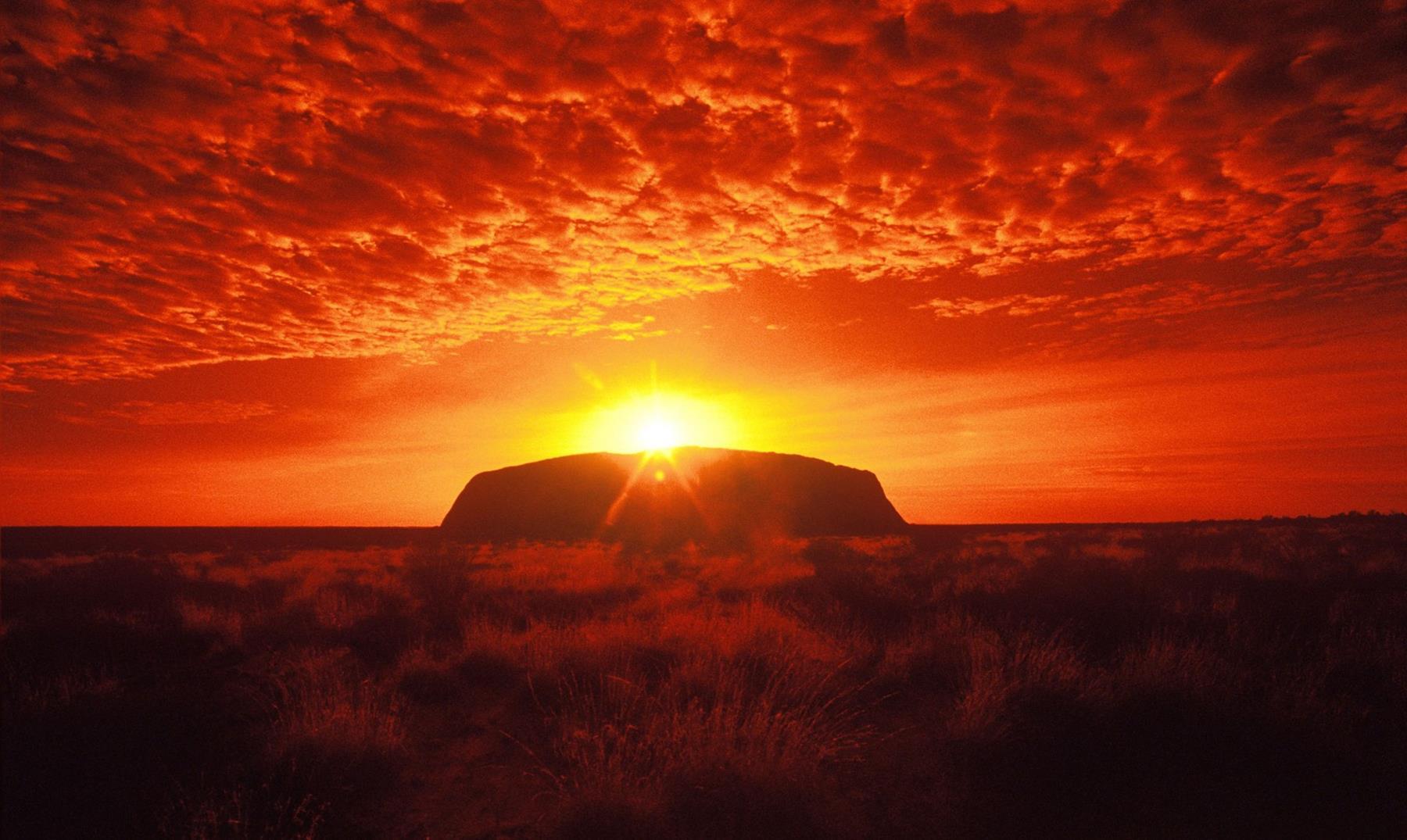 "Uluru, el ""ombligo"" del mundo"