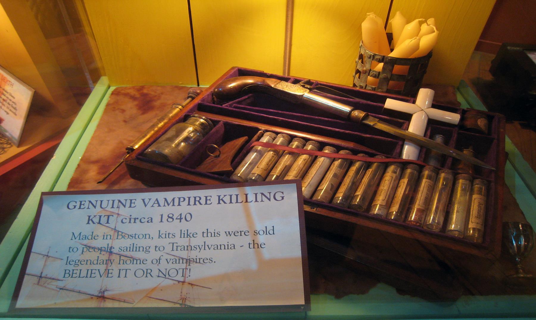 Formas de matar un vampiro según las leyendas clásicas