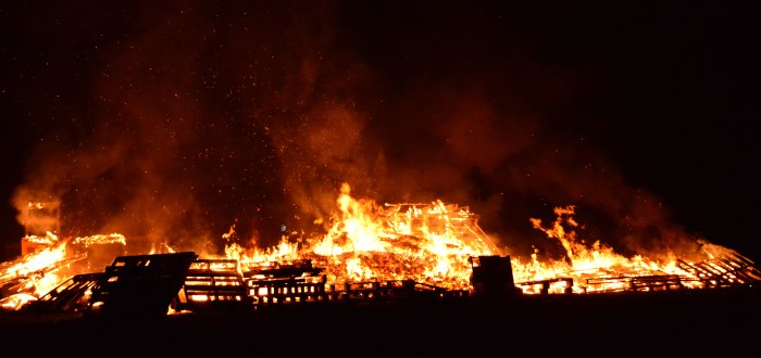 Nerón incendió Roma, Incendio de Roma.