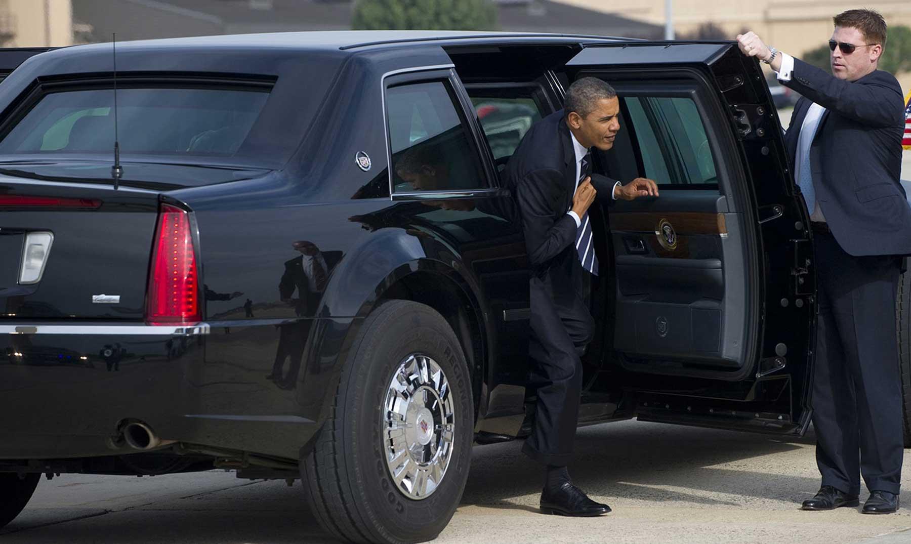 La bestia, el coche tanque de Obama