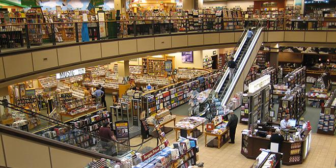 Barnes & Nobles Bookshop