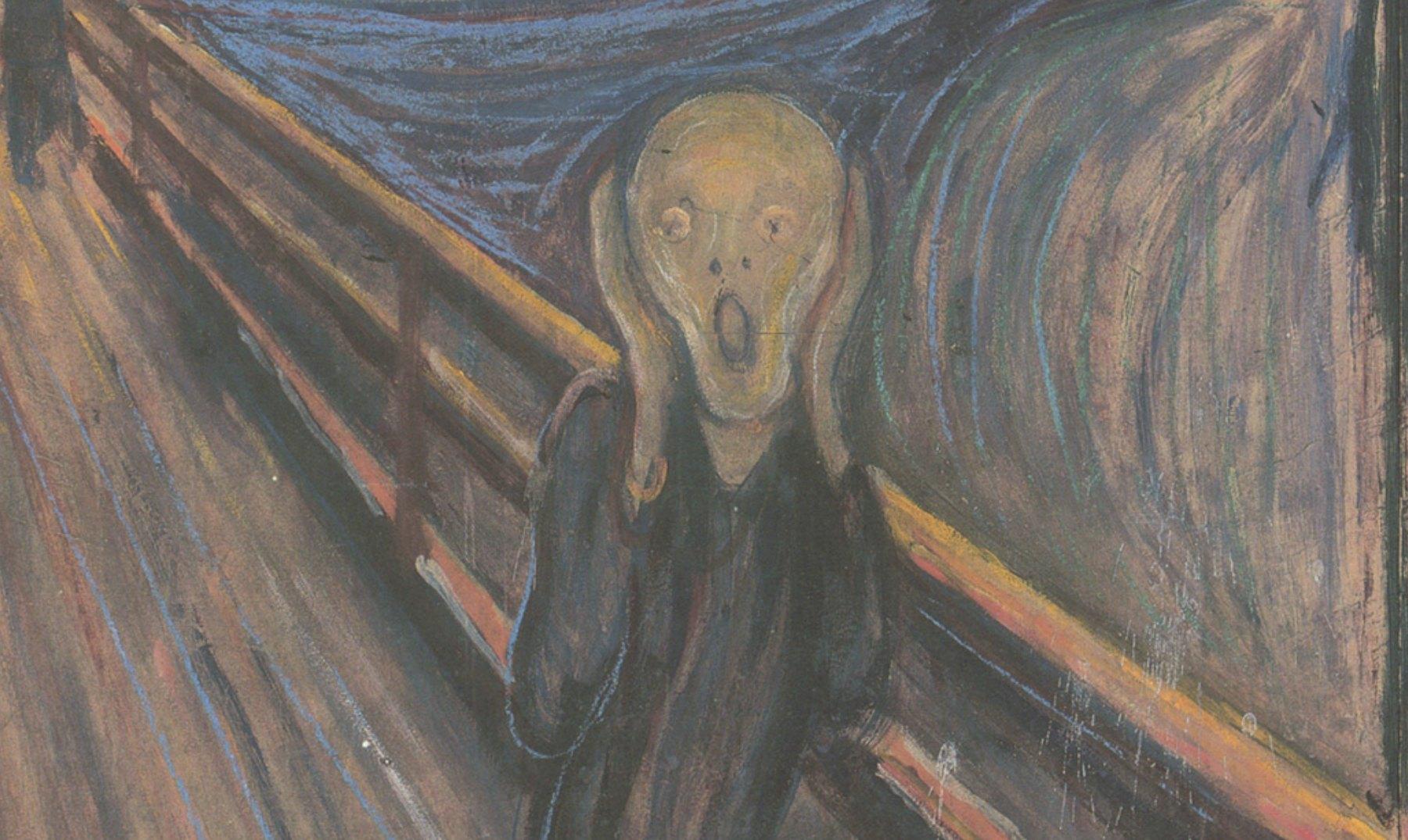 """""""El Grito"""", la angustia de Munch"""