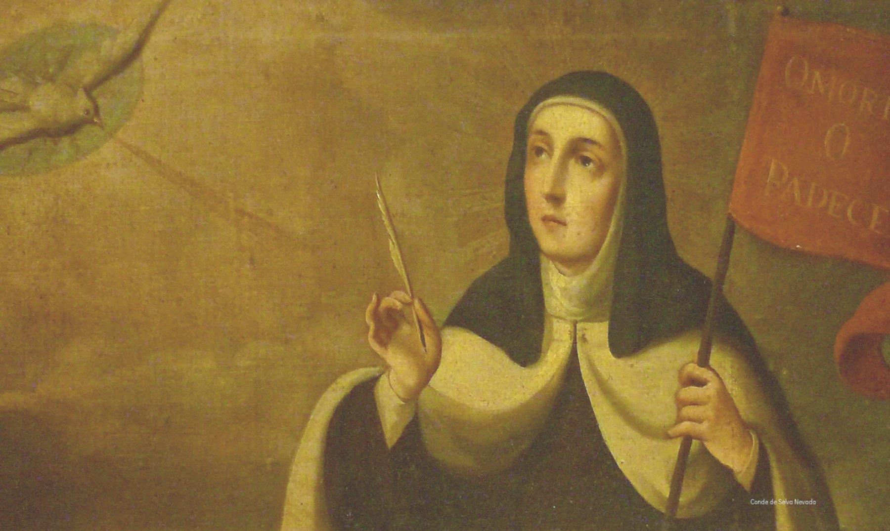 El fraile que se enamoró de Santa Teresa
