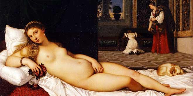 Venus de Urbino de Tiziano