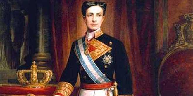 El joven Alfonso XII