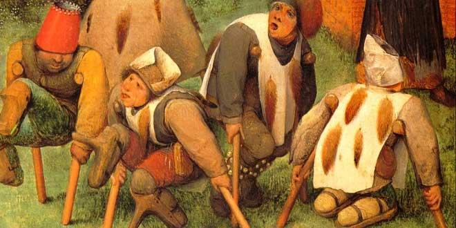 Detalle de la obra de Brueghel