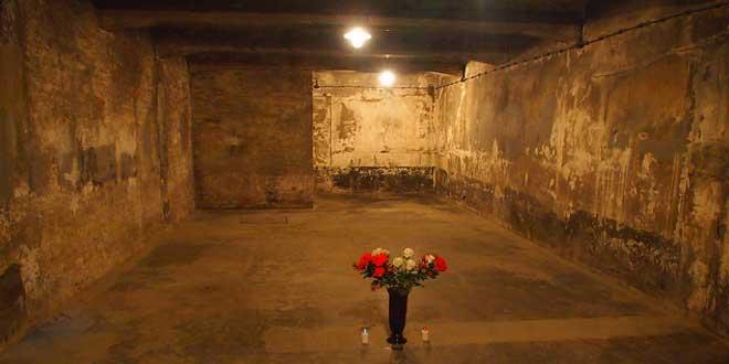 Cámara de gas de Auschwitz