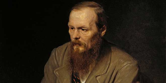 Detalle de retrato de Fiódor Dostoyevski (Vasily Perov, 1872)