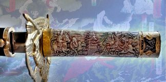 Kusanagi, la legendaria espada japonesa